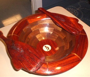 SEGMENTED BOWL WITH FORKS BY ALICE AND DICK BESLER AND MANY OTHERS.jpg